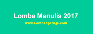 Ikuti Lomba Menulis dan Blog 2017