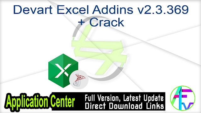 Devart Excel Addins v2.3.369 + Crack