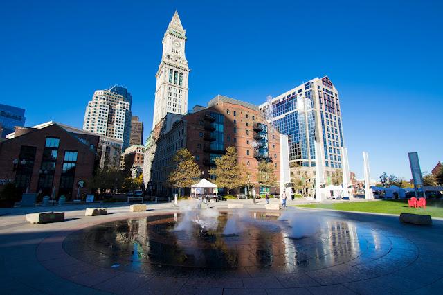 Ring fountain-Boston