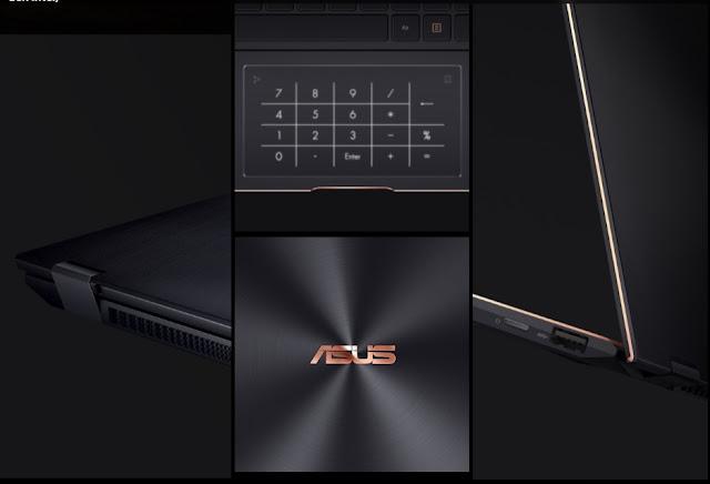 numberpad asus zenbook flip s (ux371)
