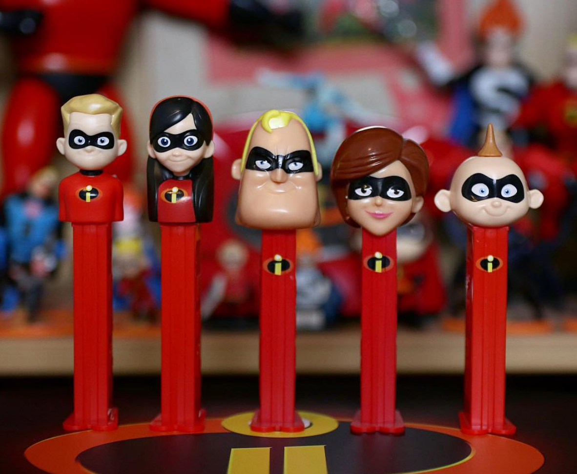 pixar Incredibles 2 PEZ