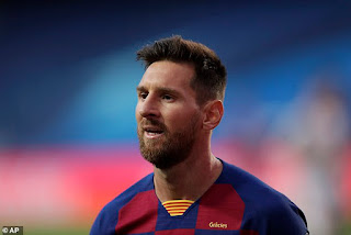 Lionel Messi 'tells Barcelona's hierarchy he wants to LEAVE this summer