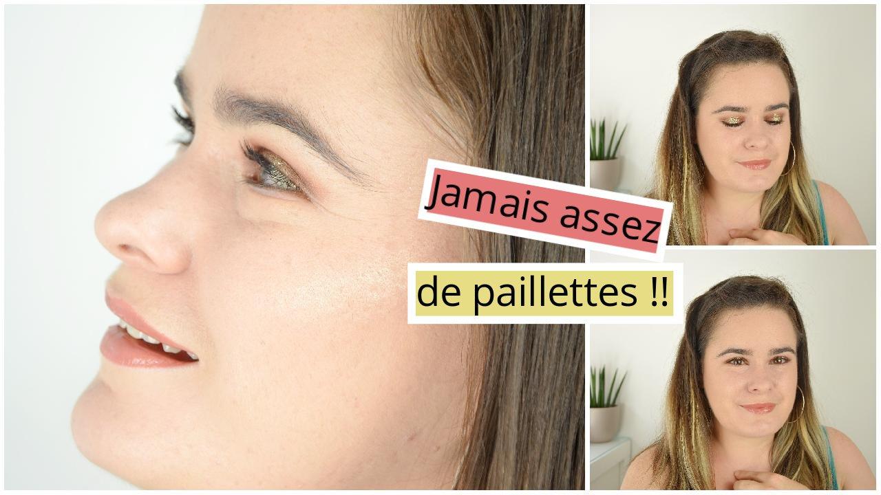 Jamais assez de paillettes the rainforest of the sea collection high tides and good vibes palette tarte cosmetics