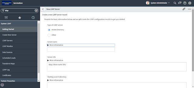 Demonstrate step by step servicenow ldap integration