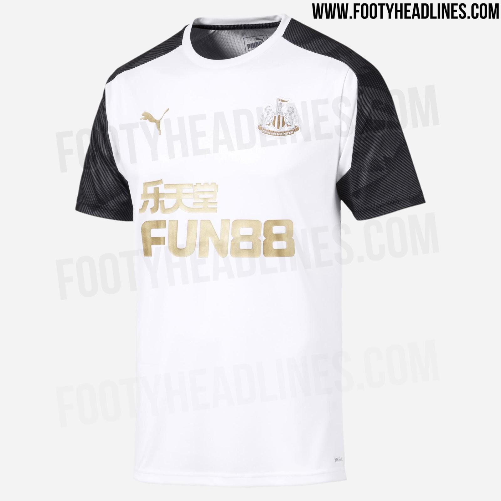 quality design 72ef4 1b57a 3 Newcastle United 19-20 Training Jerseys Leaked - cheap ...