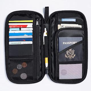 AmazonBasics Organizer Passport Holder Cover