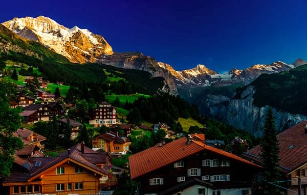9.) Wengen, Switzerland - Welcome To The 19 Most Charming Places On Earth. They're Too Perfect To Be Real.