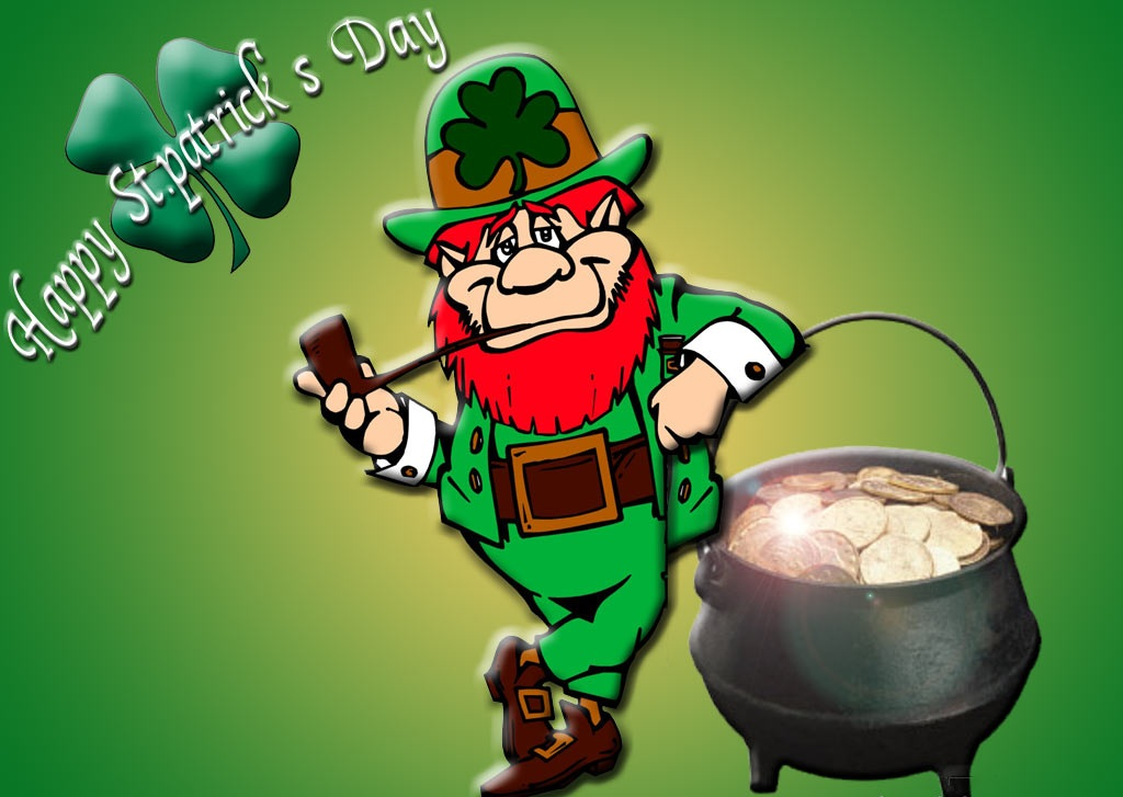 Leprechaun Shamrock Pictures HD Images Coloring Pages