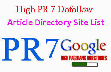 Top High DA PA Dofollow Article Directory Submission Site List 2019
