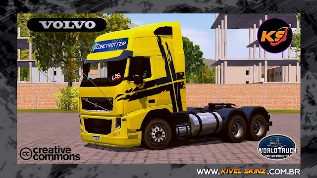 VOLVO FH09 - PERFORMANCE EDITION DOURADO