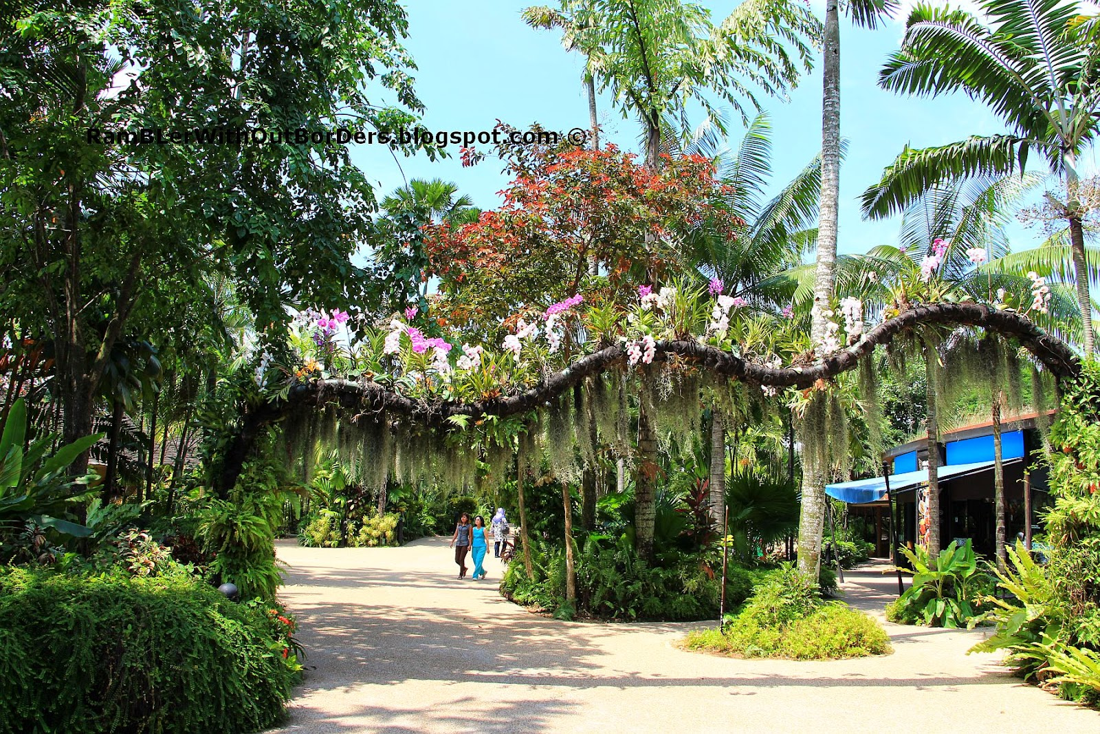 Entrance, Jurong Bird Park, Singapore
