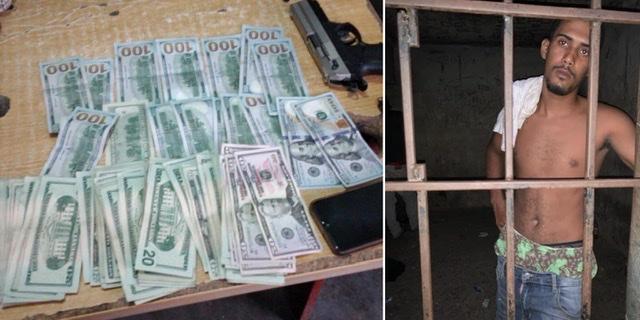 Detienen en la provincia Duarte a un presunto delincuente del sector de Herrera