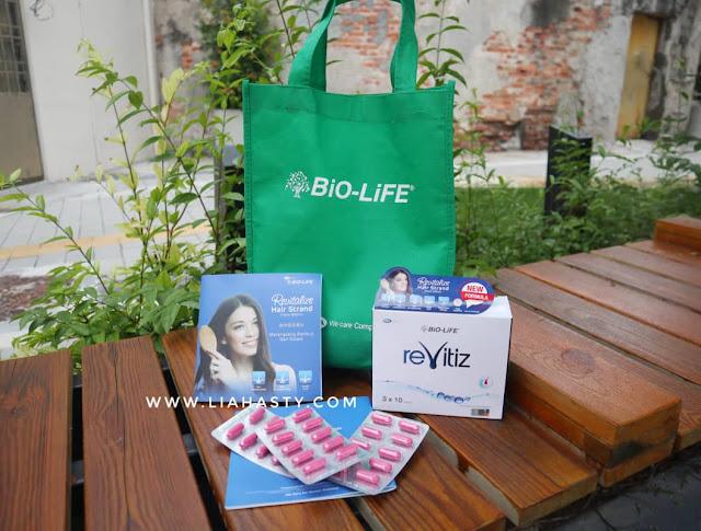 BiO-LiFE's reVitiz - Kapsul Suplemen Tambahan Rawat Keguguran Rambut