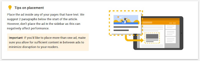 In-article AdSense