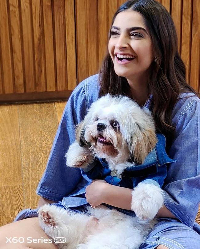 Beauty Actress Sonam Kapoor Insta Pictures
