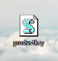 Product Key .vbs