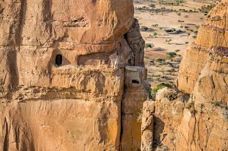 La iglesia de Abuna Yemata Guh en Etiopía
