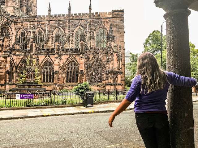 Chester Cathedral with a teenager, challenges, changes and posititivity, Mandy Charlton, photographer, writer blogger