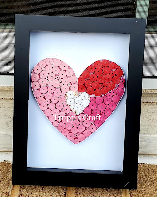 Paper Quilling Heart Frame