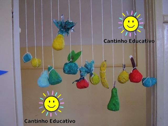 Muito TRABALHOS COM SUCATAS - CANTINHO EDUCATIVO PH45
