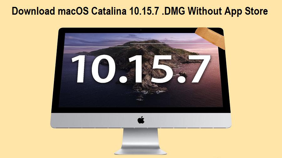 macOS 10.15.7 .DMG