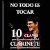"""El clarinetista Sergio de Pedro publica el libro """"No todo es tocar"""". CLARIPERU"""