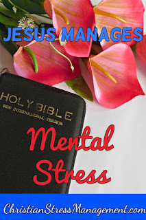 Jesus manages mental stress