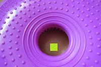 unten: Ballsitzkissen mit Loch »Donut« inkl. Pumpe (ca. 140kg Maximalgewicht) / luftgefülltes Sitzballkissen, Luftkissen & Gleichgewichtskissen / Balance Kissen für Fitness-, Reha-, Koordinations-, und Rückentraining. Ideal als Sitzunterlage für Bürostühle oder den eigenen Schreibtisch 33 cm / In vielen Farben erhältlich