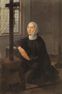 Angela Merici, pictured in a 17th  century painting by an unknown artist