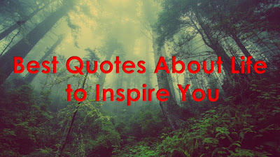 Best Quotes About Life to Inspire You