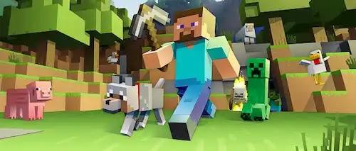 تحميل لعبة ماين كرافت المكركة على الكمبيوتر Minecraft PC