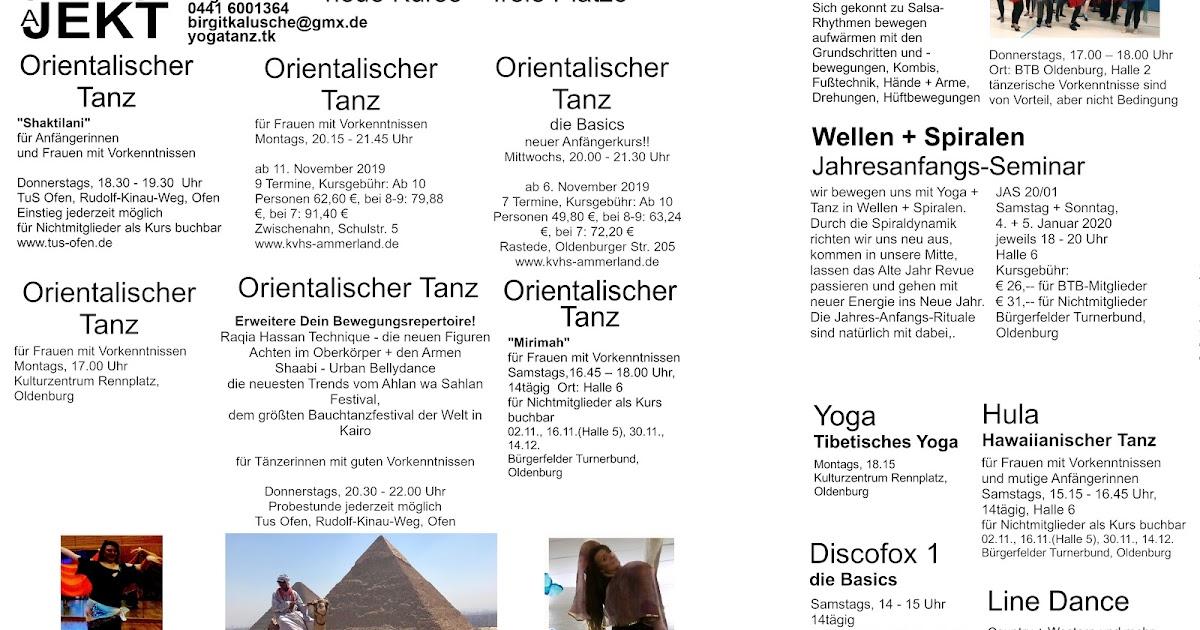 yoga tanz projekt oldenburg neue kurse freie pl tze. Black Bedroom Furniture Sets. Home Design Ideas