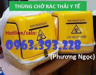 Thùng chở rác y tế nguy hại sau xe máy. thùng vận chuyển chất thải lây nhiễm 0a43b900cf802ade7391%2B%25281%2529