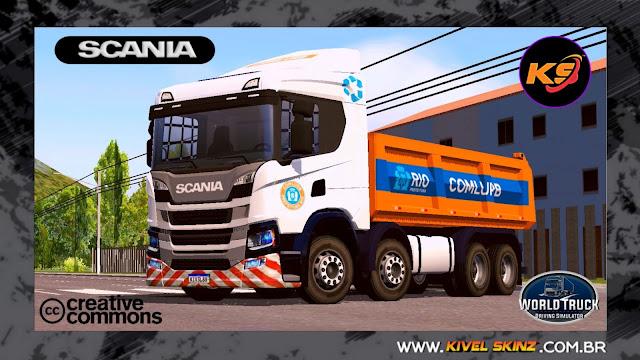 SCANIA P320 CAÇAMBA - COMLURB