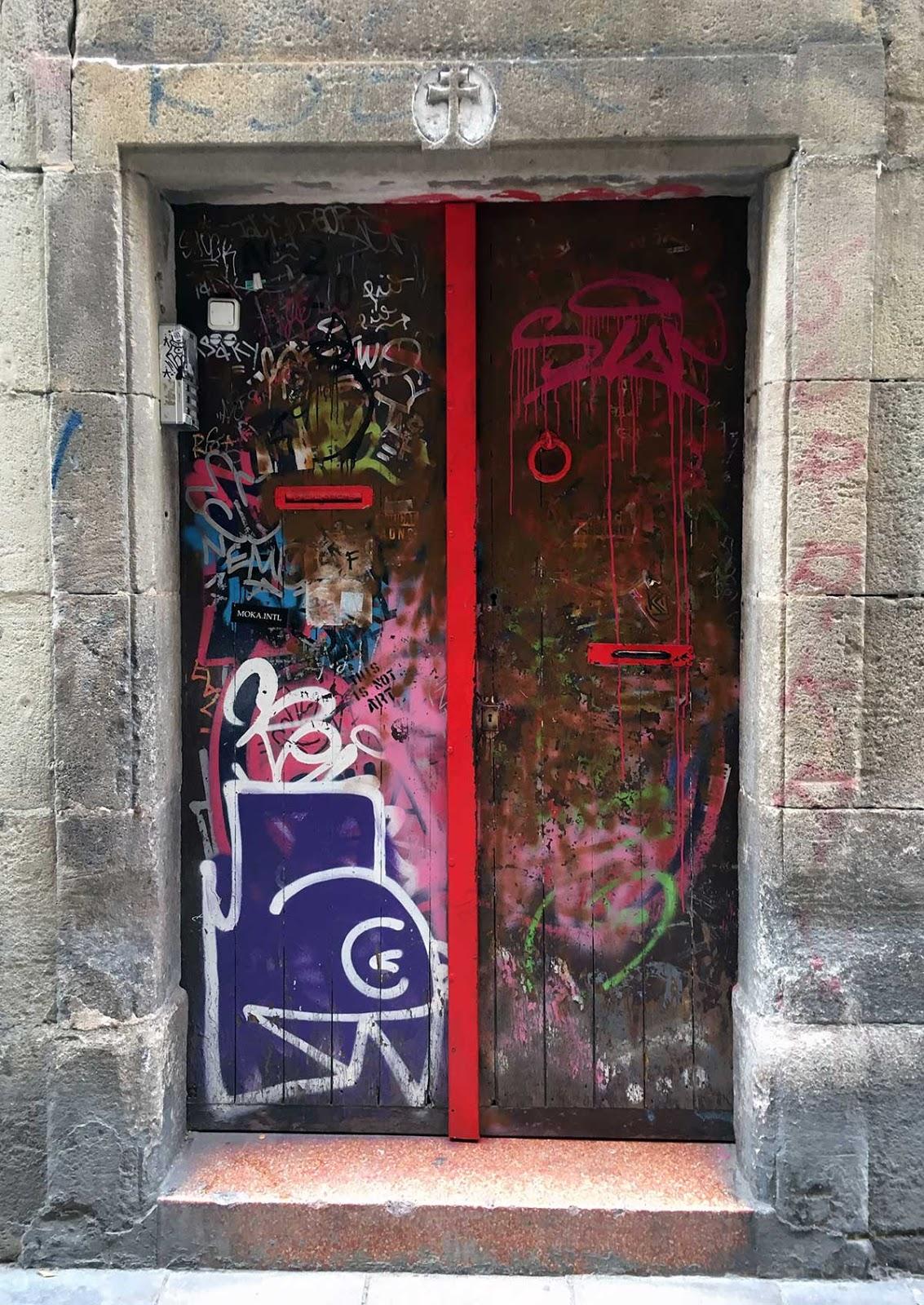 Carrer Nou de Sant Francesc. Barcelona. Gener, 2021
