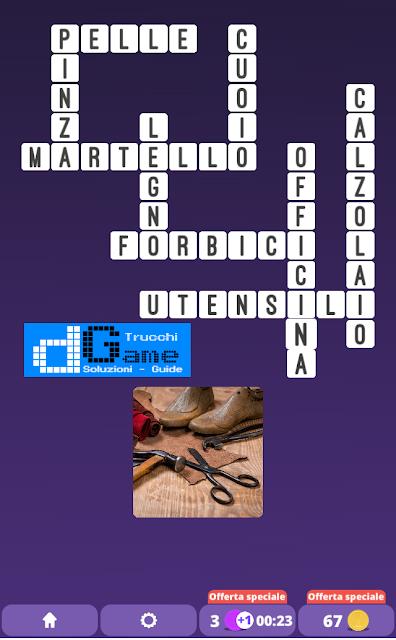 Soluzioni One Clue Crossword livello 21 schemi 14 (Cruciverba illustrato)  | Parole e foto