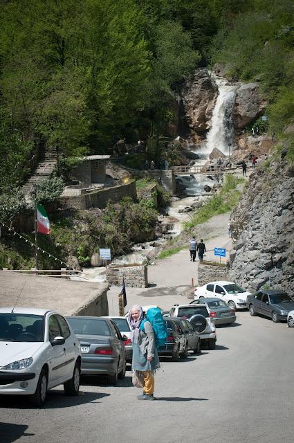 Leaving Masuleh, Iran