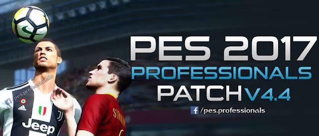 PES Professionals Patch V4 AIO PES 2017