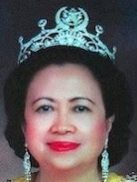 diamond tiara terengganu malaysia queen tengku ampuan bariah