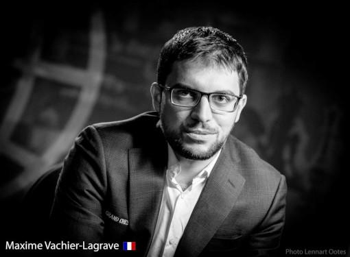 Le grand-maître français Maxime Vachier-Lagrave - Photo © Lennart Ootes