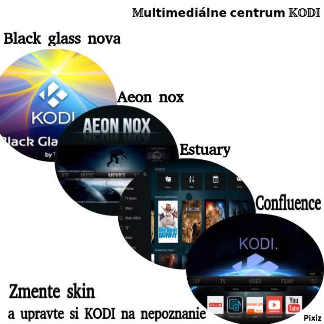 KODI - Ako zmeniť SKIN