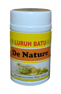 Obat Herbal Luruh Batu De Nature Indonesia