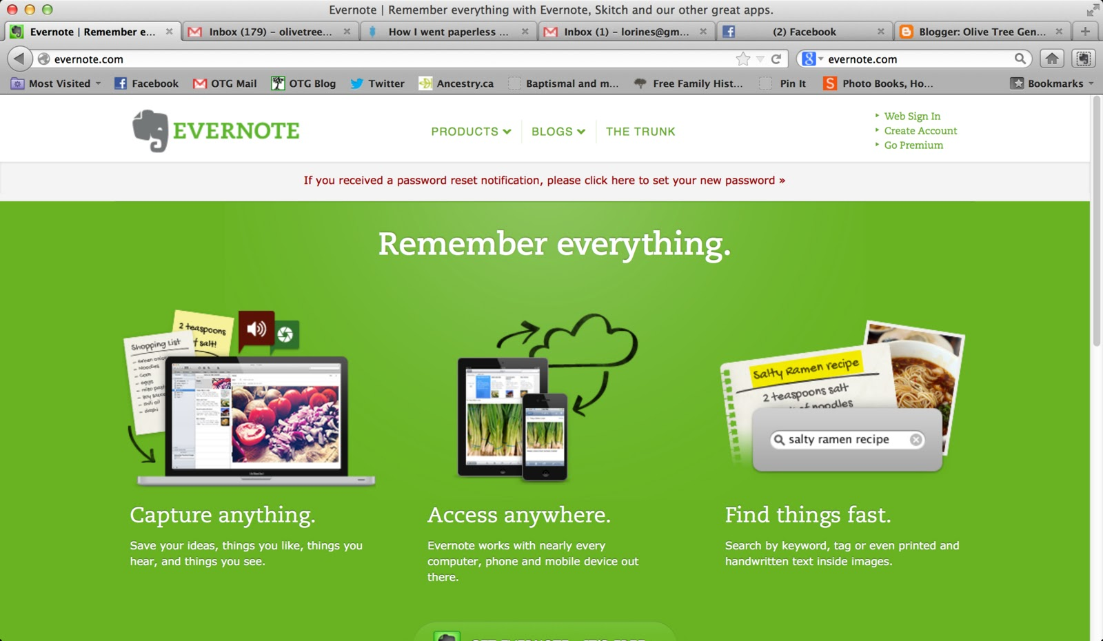 Evernote Hacked: 50 million user passwords reset