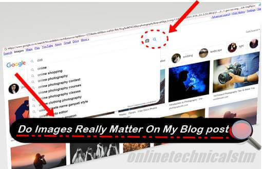 Do Images Really Matter On My Blog post