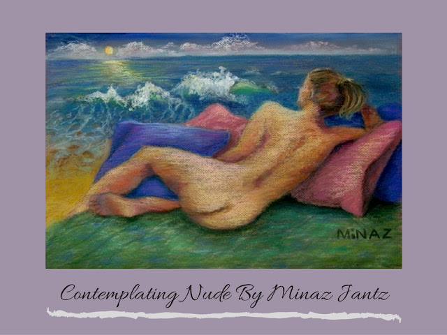 Contemplating Nude by Minaz Jantz