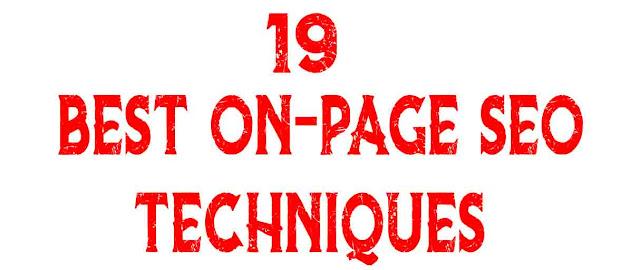 19 best,On-Page SEO Techniques, SEO Techniques, 19 Best On-page SEO Techniques, On-page SEO in hindi,