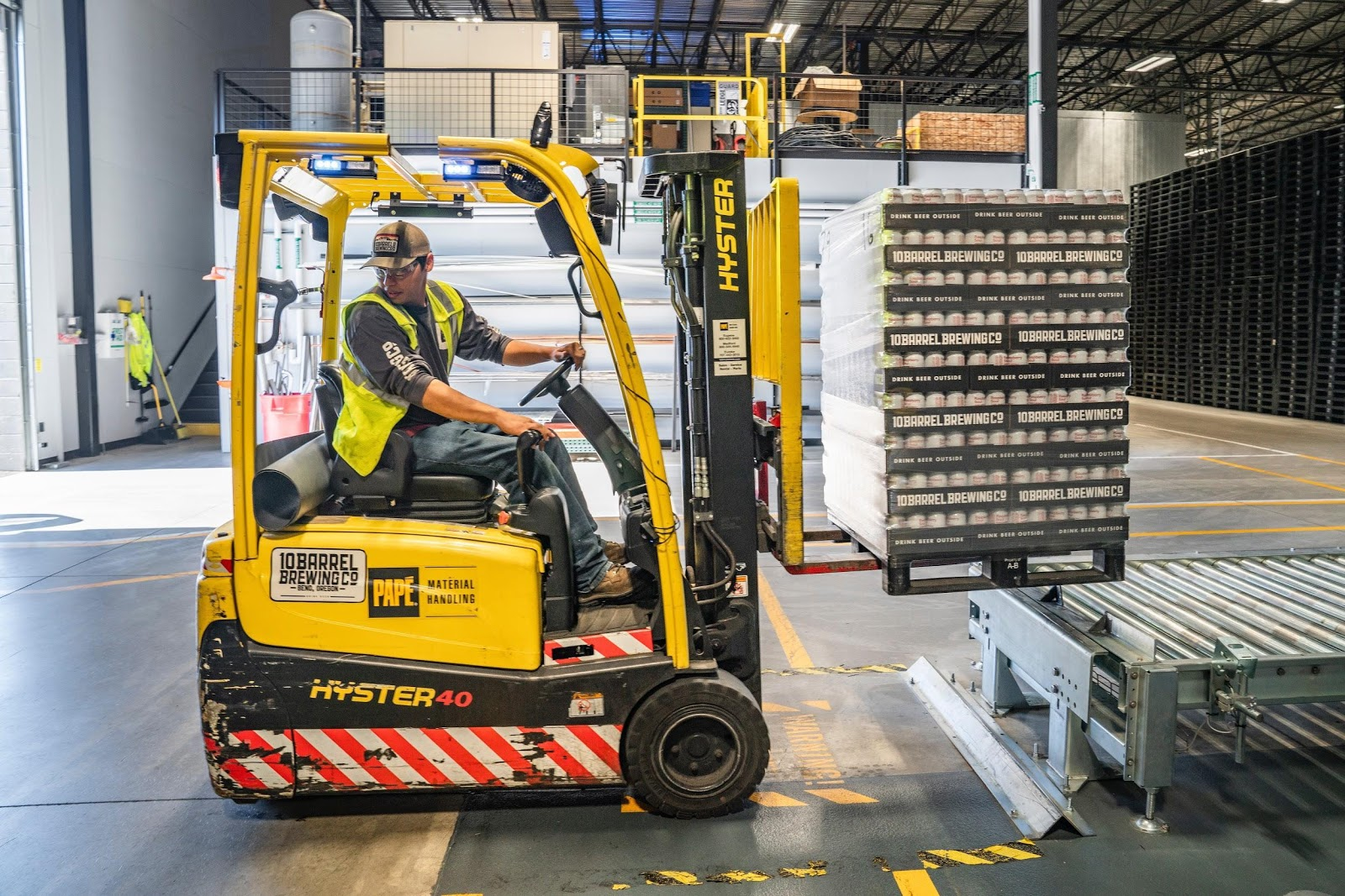 Robots to Manage Warehouses