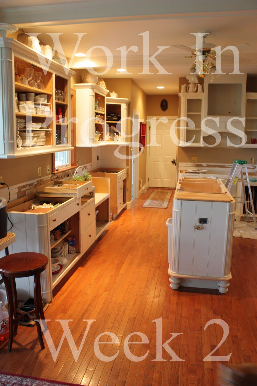 Kitchen Facelift Week 2 And What's On The Menu~ Week Of
