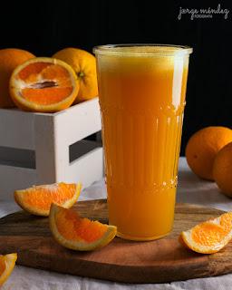 Zumo de naranja integral receta Thermomix