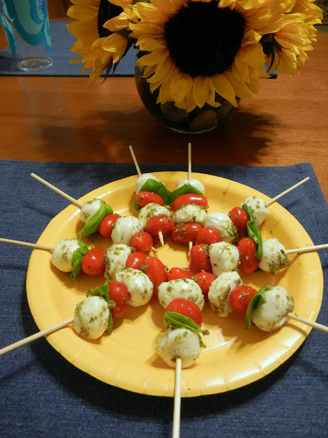 Caprese%2BSkewers%2BEggface Weight Loss Recipes Healthy and Easy Holiday Party Recipes